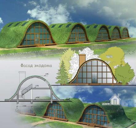 Строительство автономного экологического дома своими руками