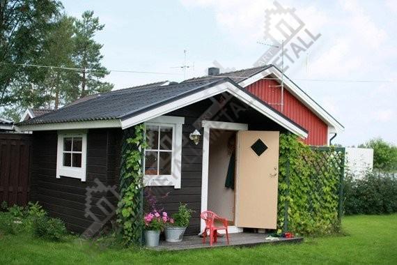 Дешевый дом для дачи своими руками