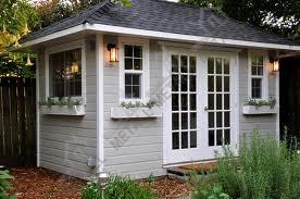 одноэтажные садовые дома