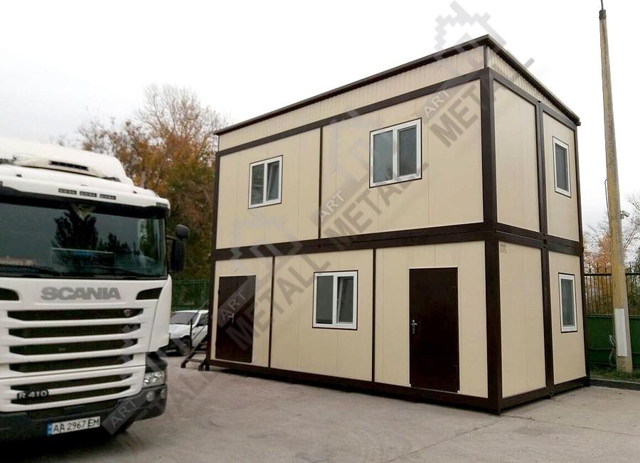 Доставка модульных домов АРТМЕТАЛЛ