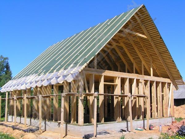 металлический или деревянный каркас для дома преимущества