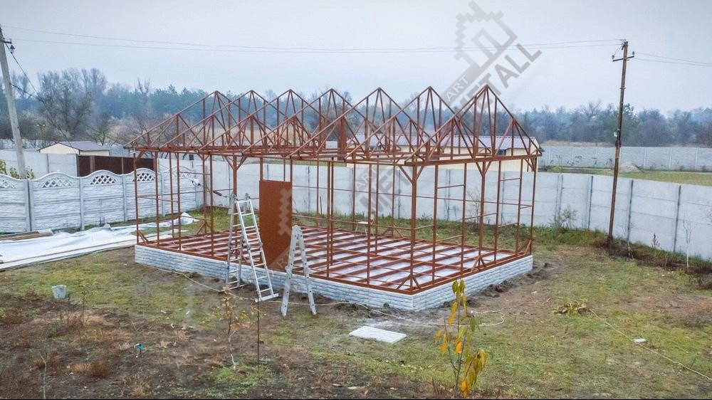 каркасное строительство коттеджей