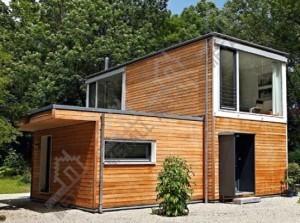 дачный дом по модульной технологии
