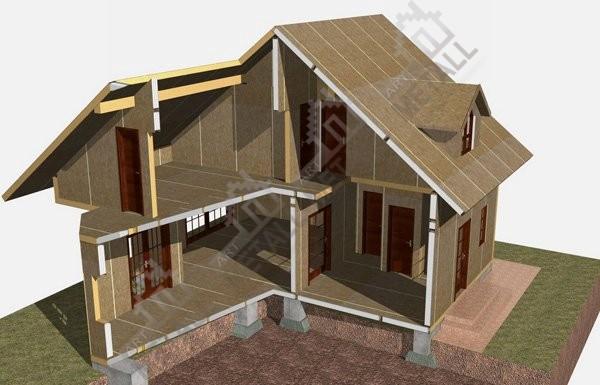 Конструкция стен пассивного дома