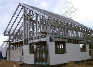 Особенности конструкции каркасно-панельных домов