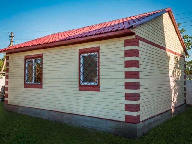 Дачный дом 40м2