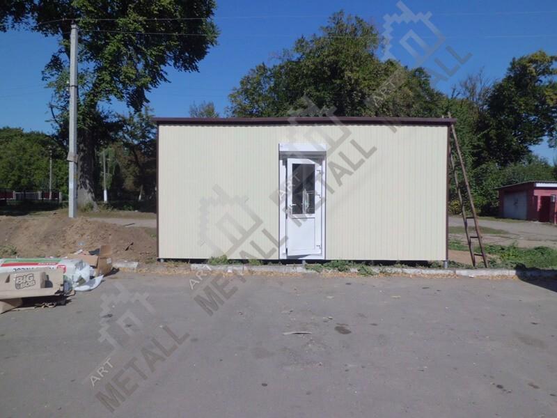 Санитарный модуль 15м2 (№2)