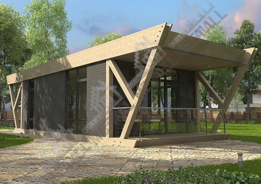 Строительство экодома в Украине