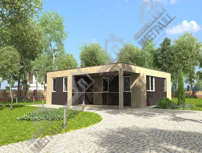 Строительство дом под ключ