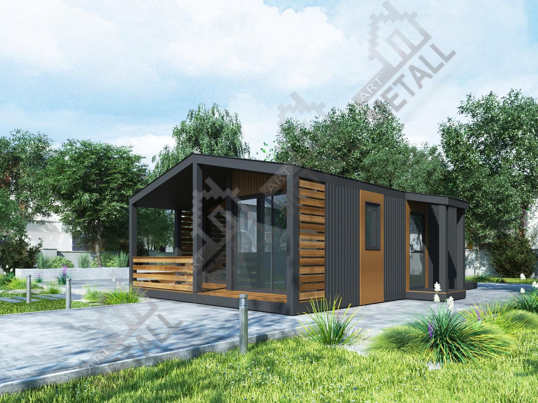 Строительство энергоэффективных жилых домов от Artmetall