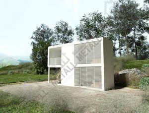 Домик для турбазы 36м2