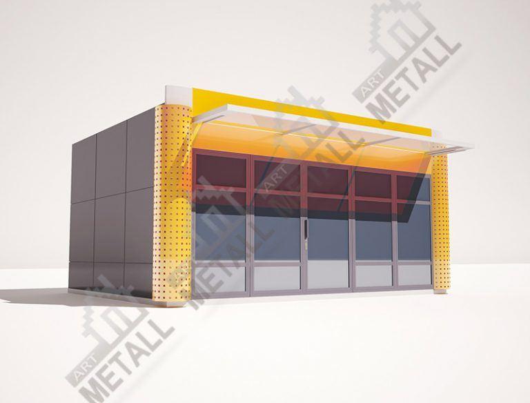 Торговый павильон 20 м2