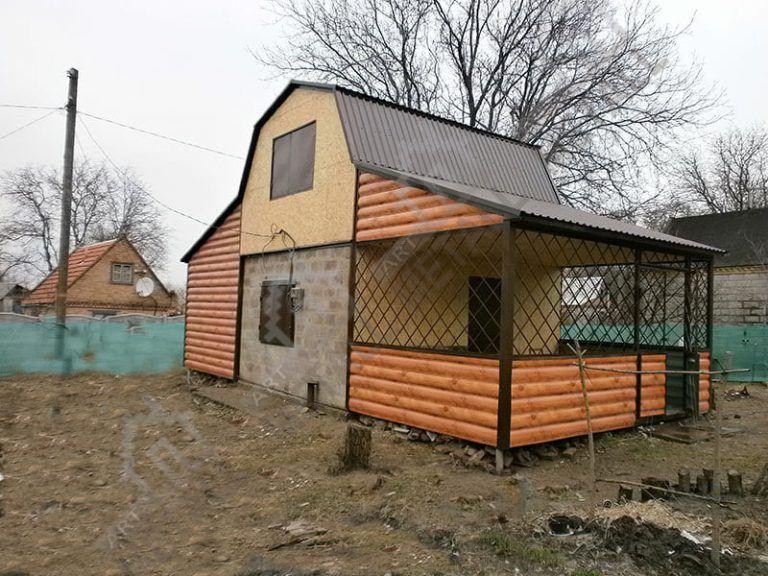 Дачный дом 30м2 + терраса 20м2