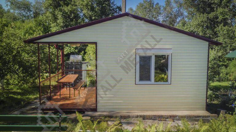 Садовый дом 16м2 + терраса 8м2