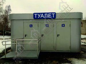 Санитарный модуль 10 м2 (№2)