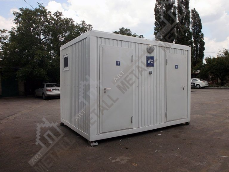 Санитарный модуль 9 м2