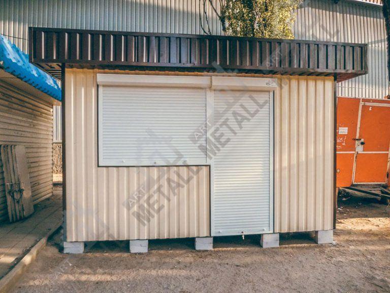 Торговый павильон 12м2 (№1)