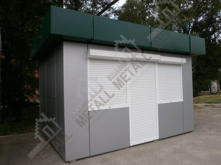 Торговый павильон 12м2 (№2)