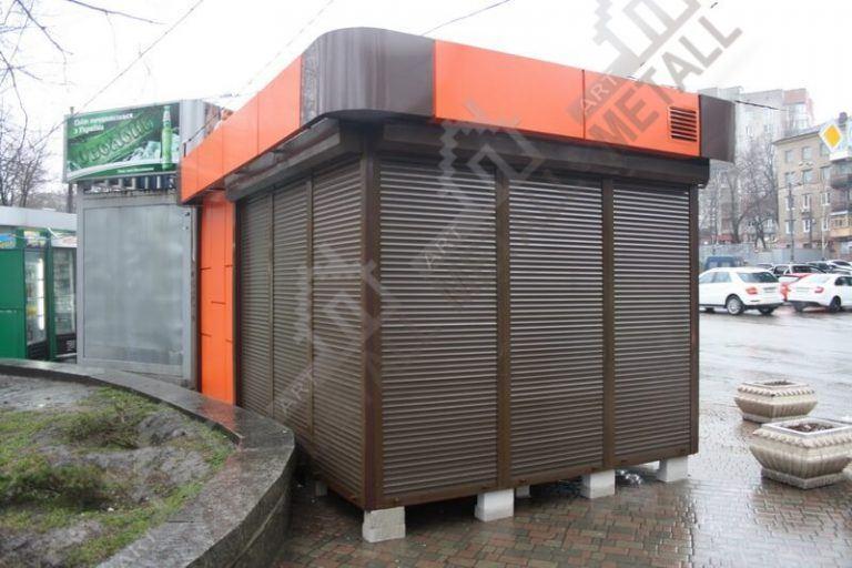 Торговый павильон 15м2 (№1)