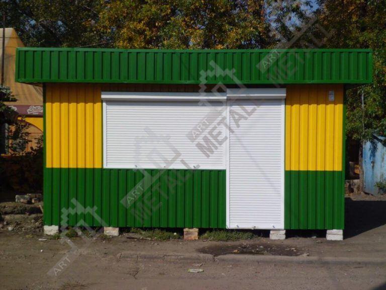 Торговый павильон 15м2 (№2)