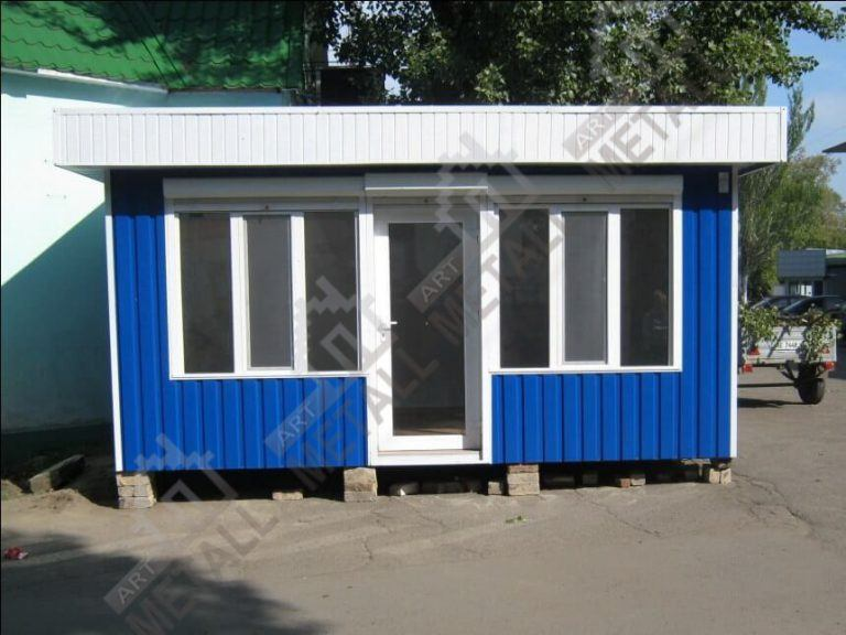 Торговый павильон 15м2 (№3)