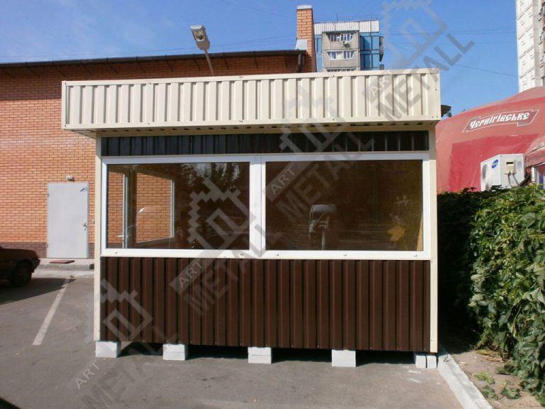 Торговый павильон 19м2 (№1)