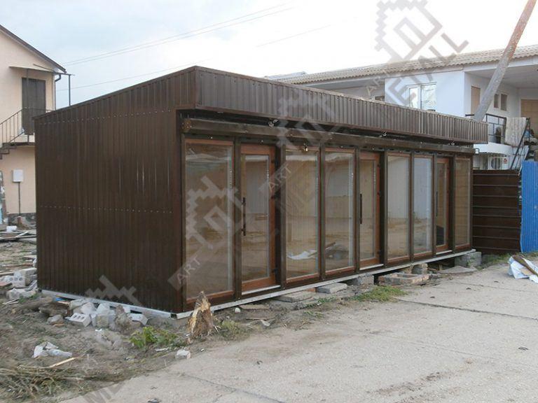 Торговый павильон 27м2 (№2)