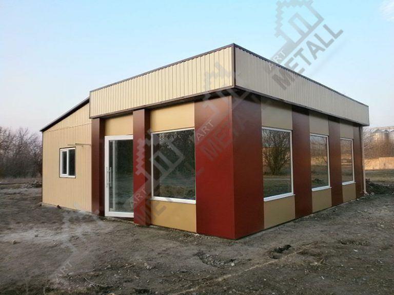 Торговый павильон 50м2 (№2)
