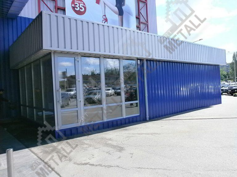 Торговый павильон 60м2