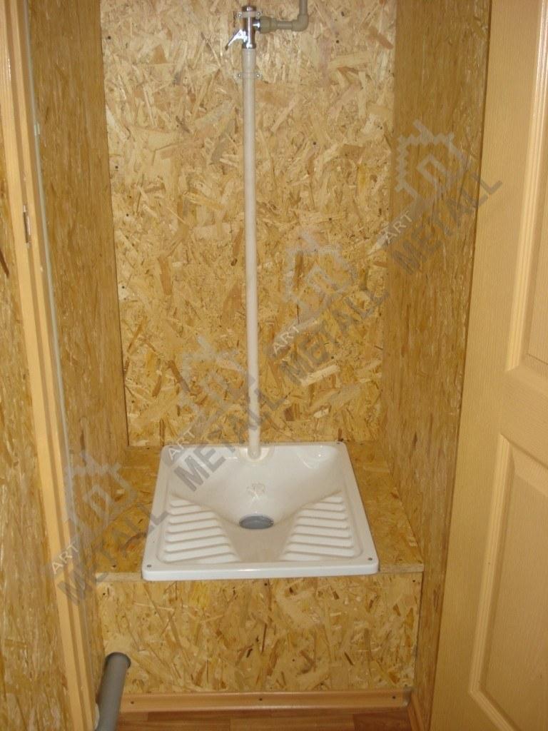 Санитарный модуль 20м2