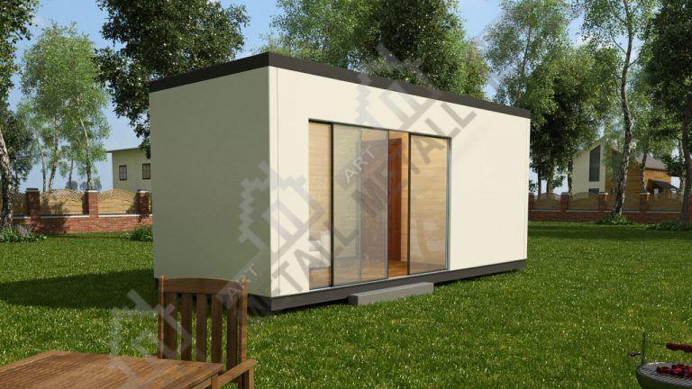 Проект жилого дома 15м2